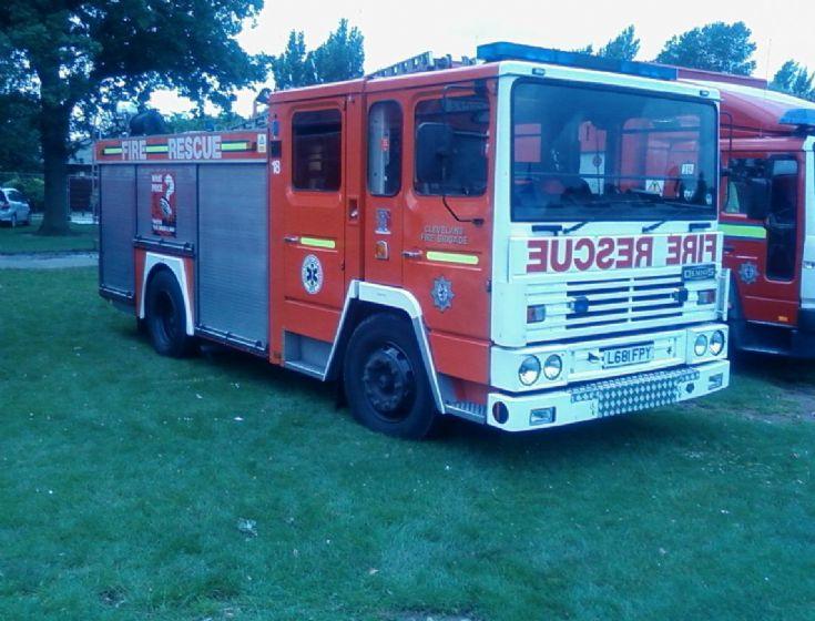 Cleveland Fire Brigade Dennis SS