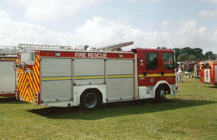 Cleveland Fire Brigade Dennis Sabre Preston Park