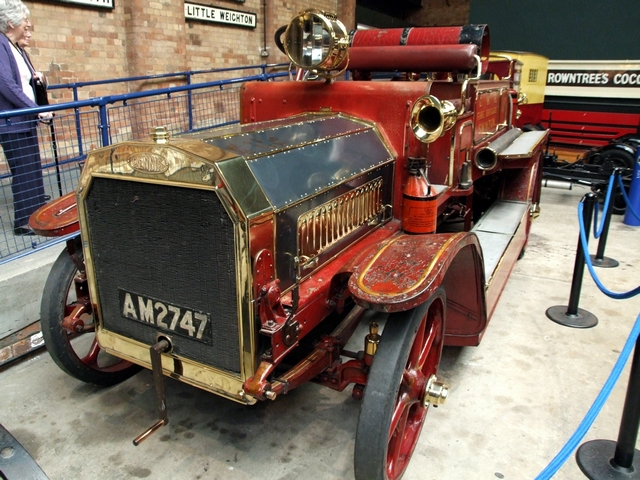 Old Dennis fire engine Museum York