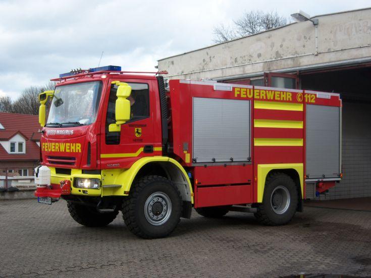 PTLF Iveco Magirus Feuerwehr Herne Germany