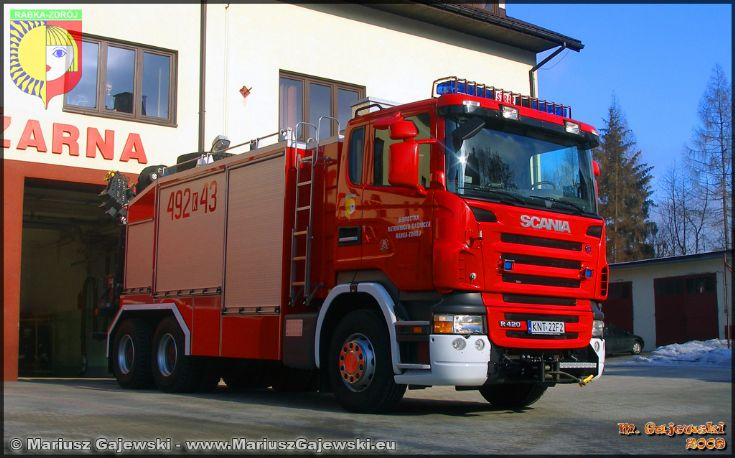 Heavy technical rescue vehicle Scania
