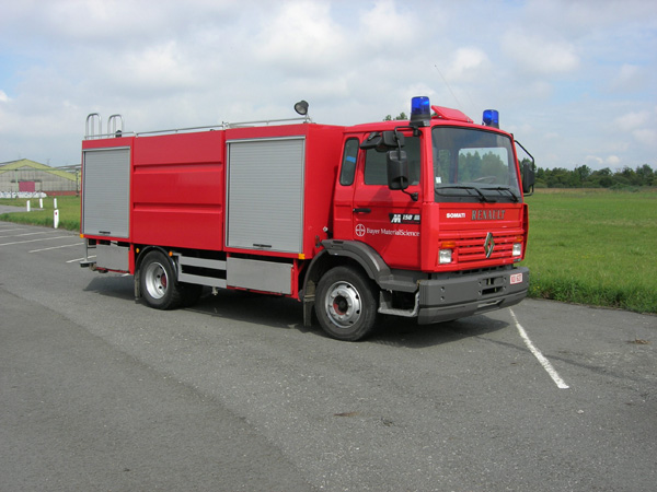 Renault Somati Foam tender Bayer Antwerp