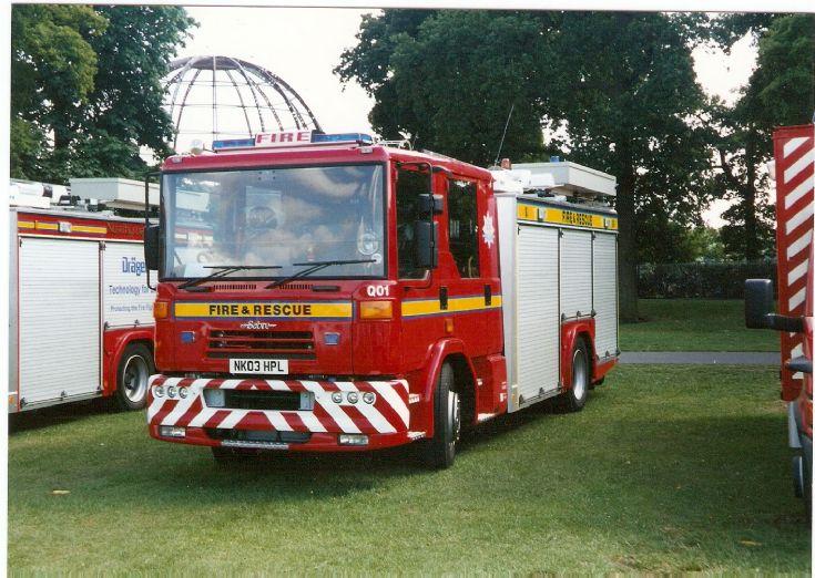Dennis Sabre County Durham Darlington FRS