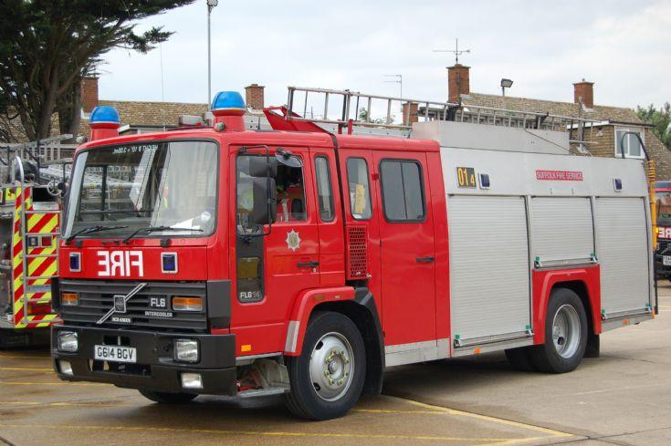 Suffolk Fire and Rescue Service Volvo G614 BGV