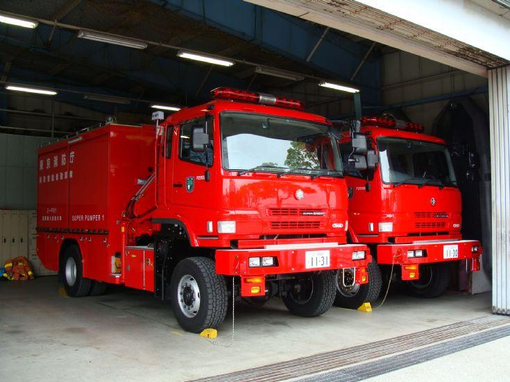 Hino Tokyo FD super pumper unit