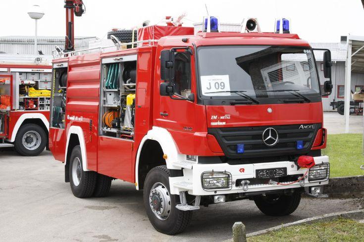 Croatia Mercedes Axor Fire engine