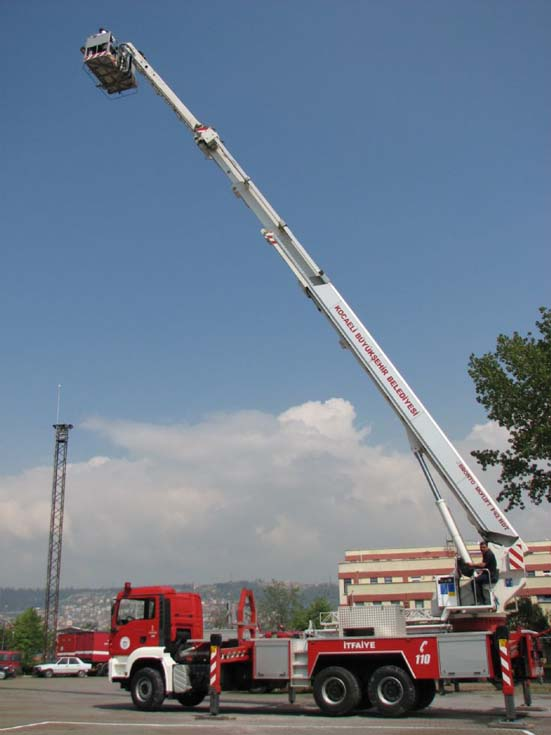 Kocaeli Fire Department MAN Bronto Skylift