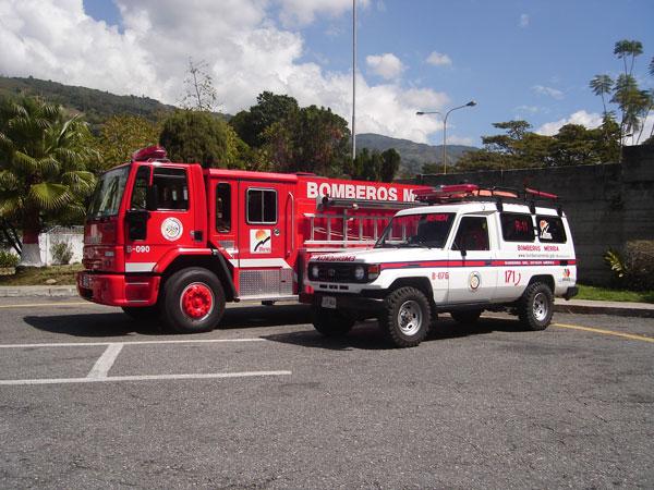 Fire dept Merida Venezuela