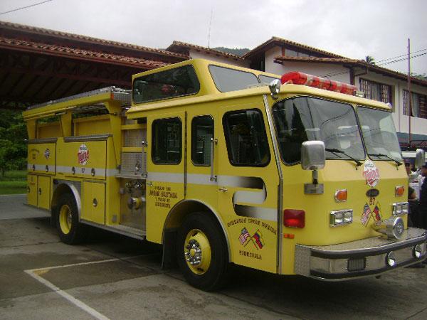 Fire station Merida Venezuela Truck E-one