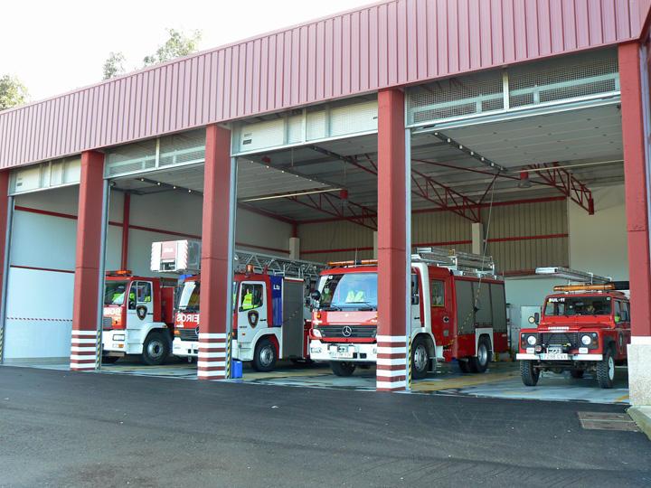 Morrazo Spain Fire Station