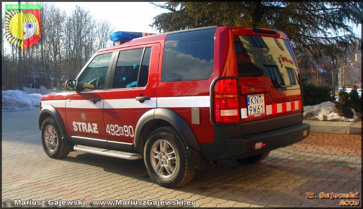 JRG Rabka Zdrój Land Rover Discovery
