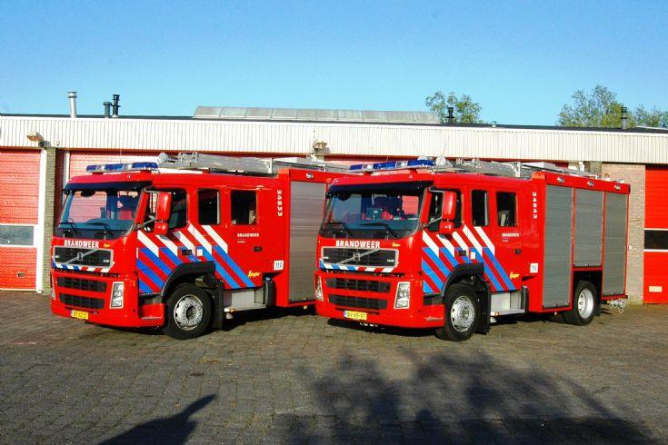 Brandweer Veendam Volvo FM9 pumps