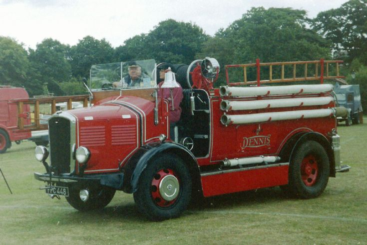 Fire Engines Photos - 1936 Dennis (Prototype) Ace Pump