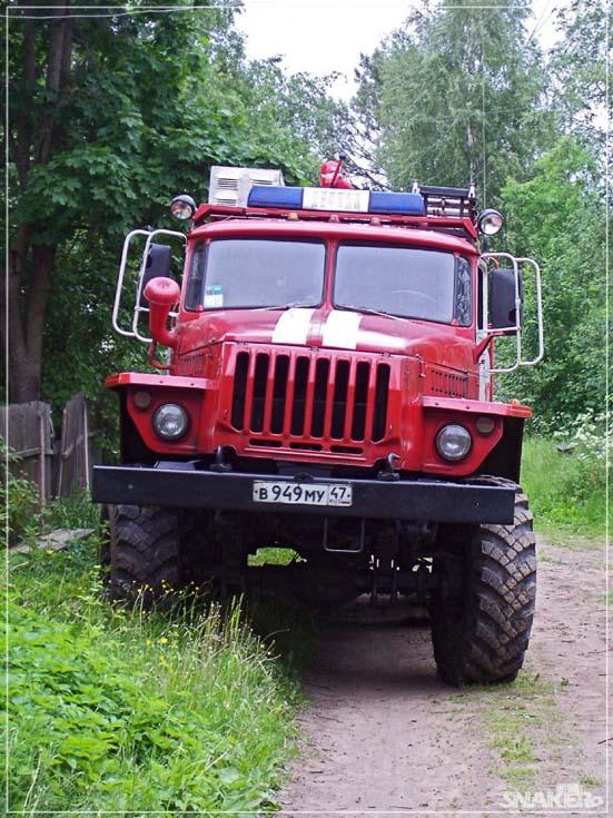 Ural AC-5-40 Pasha Fire brigade