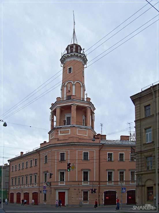 Old fire station on Sadovaja street St Petersburg