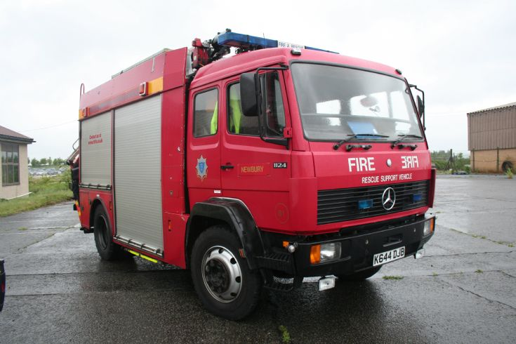 Royal Berkshire FRS Mercedes Angloco Rescue