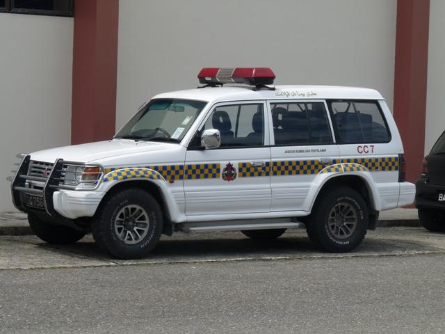 Mitsubishi Pajero Brunei Fire and Rescue