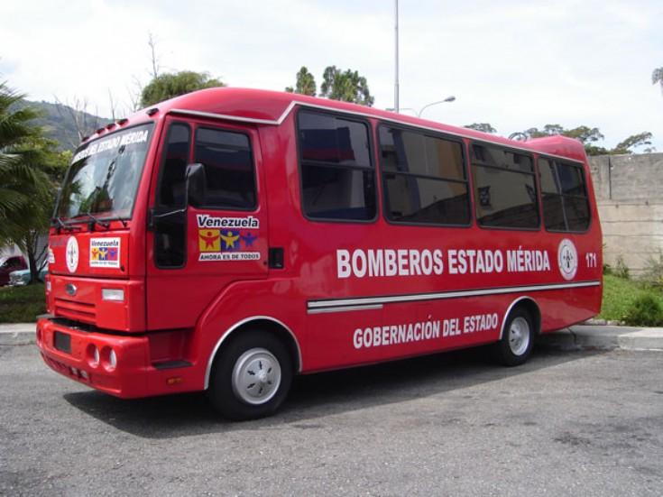 Fire Engines Photos Ford Bus Merida Venezuela