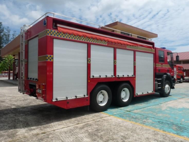 Iveco Trakker BAT Brunei Fire brigade
