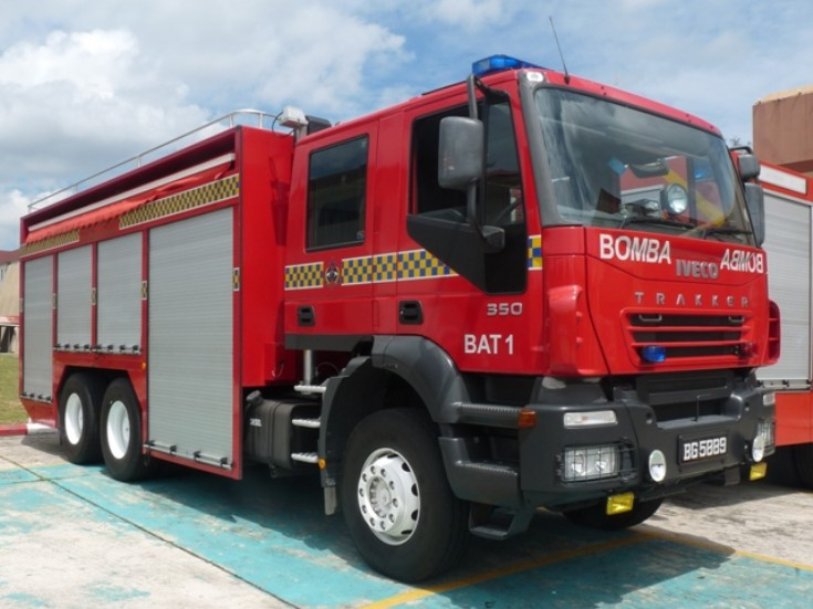 Iveco Trakker Brunei Fire and Rescue