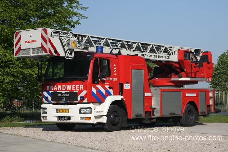 Brandweer Enschede MAN Magirus TTL