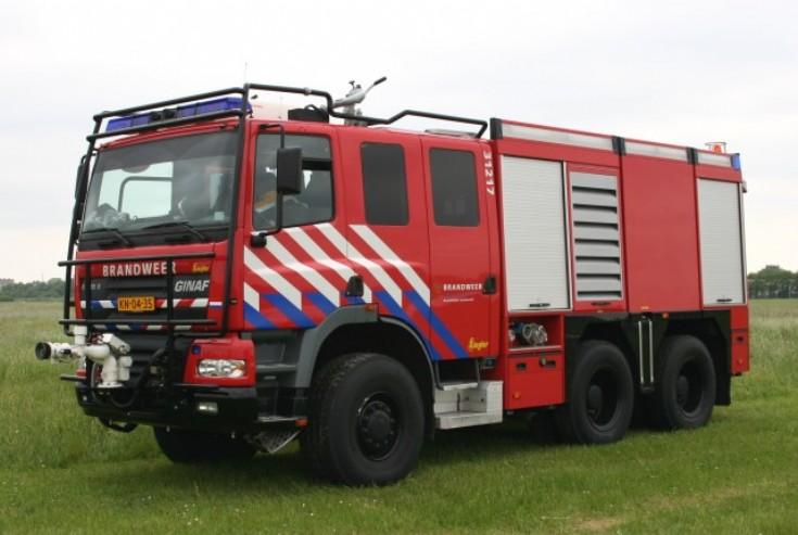 Royal Dutch Army Ginaf X3335S watertender