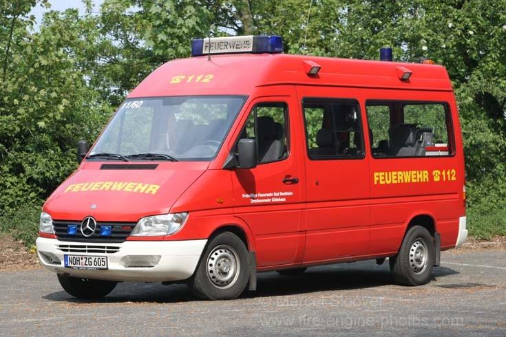 Feuerwehr Gildehaus Mercedes ELW 1