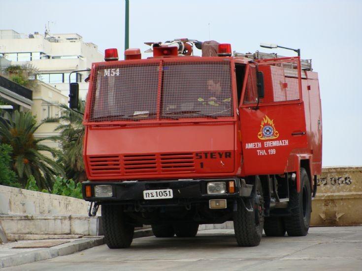 Athens Fire department Steyr pump