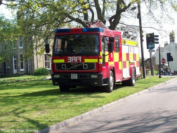 Suffolk Fire and Rescue Volvo Bury FS