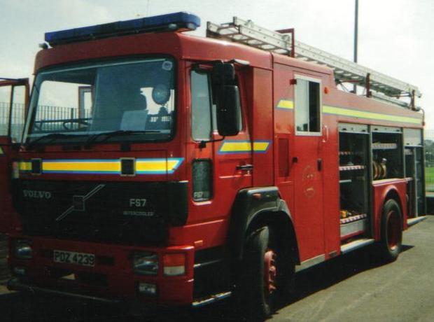 Northern Ireland. Volvo FS7 WrL
