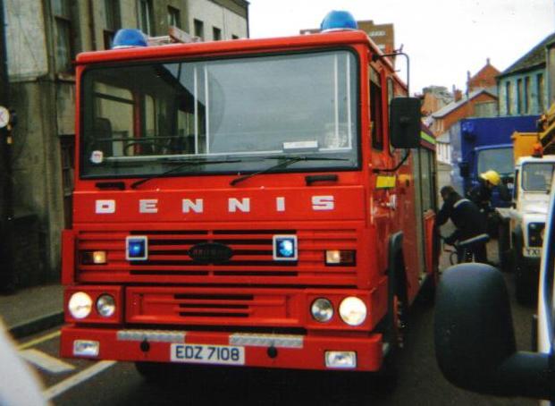 Northern Ireland. Dennis SS134 WrL