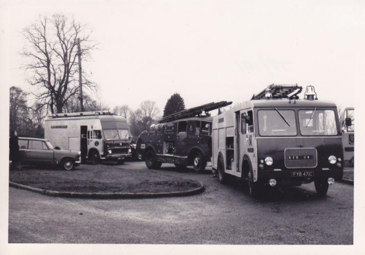 North Somerset area Fire engines
