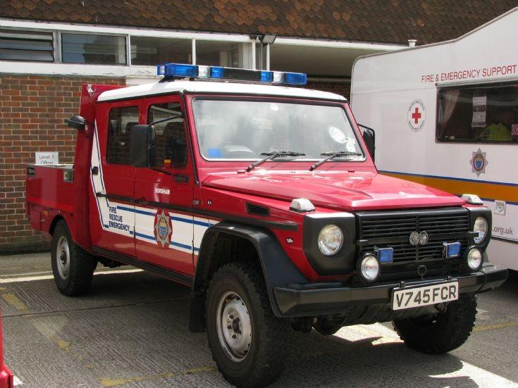 Daimler Puch 4x4 Horsham Steyr Puch 4x4
