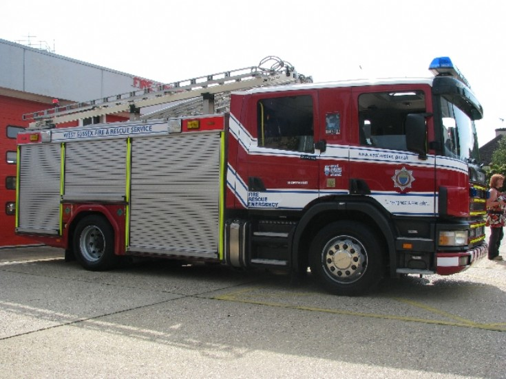 West Sussex Fire and Rescue Scania