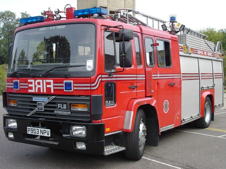 Volvo FL6 Suffolk Fire service