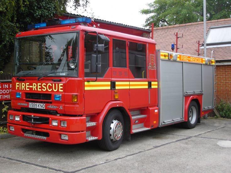 Essex Fire service Dennis Sabre