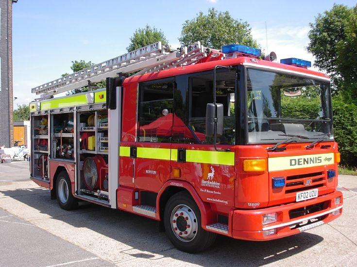 Hertfordshire Fire & Rescue Service Dennis Dagger