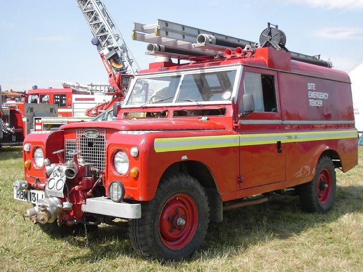 Former Bedfordshire FRS Land Rover