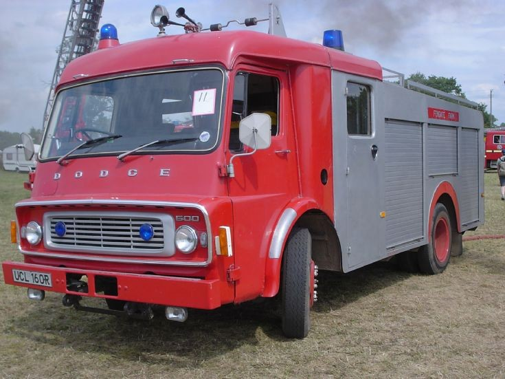 Dodge K850 former Norfolk Fire service