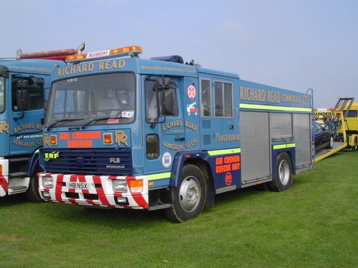 Former Fife fire service Volvo FL6