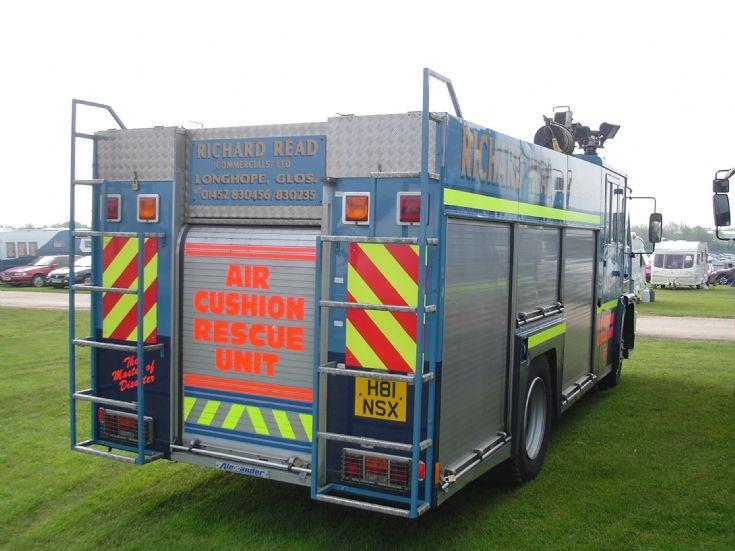 Second life Fife Fire appliance back