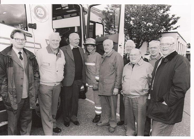 Retired Grampian Fire Brigade fire men
