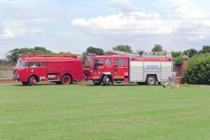 Northumberland Fire engines