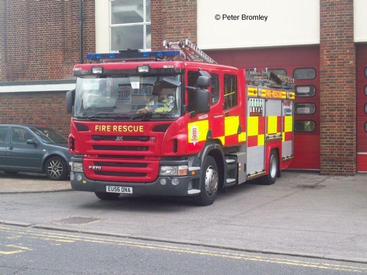 Essex County Fire & Rescue Hadleigh Scania