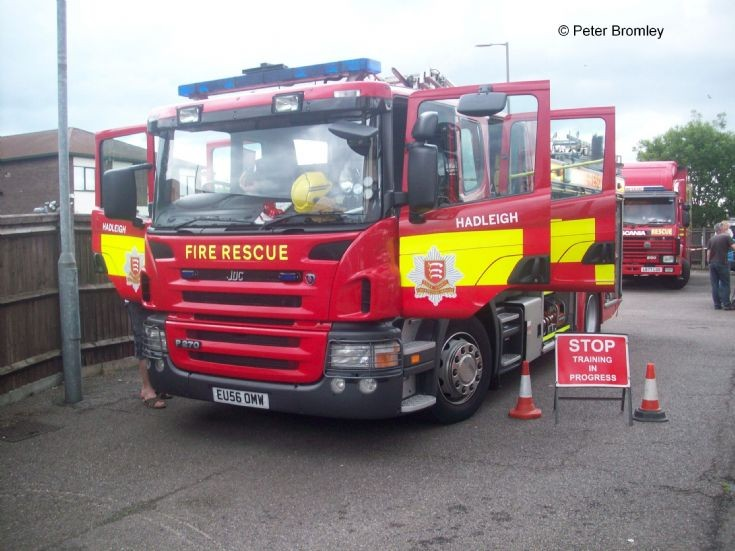 Essex County FRS Hadleigh Scania JDC