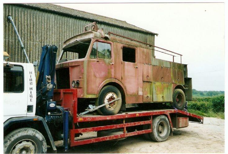 Dennis F108 Fire engine