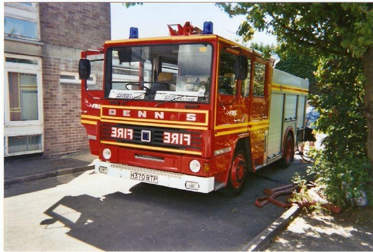 Dennis DS Fire engine H370BTP
