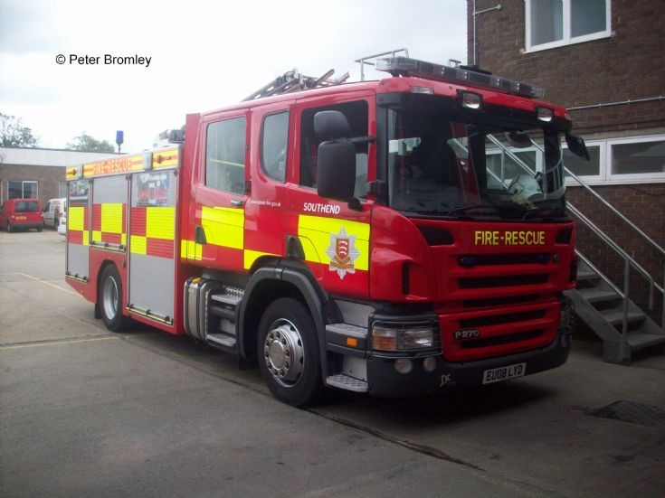 Essex County Fire & Rescue Southend Scania