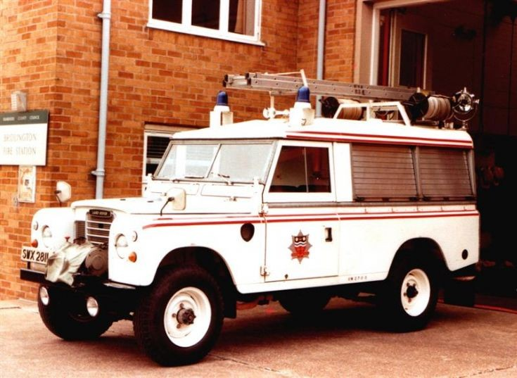 Landrover Rescue Tender Humberside Fire Brigade