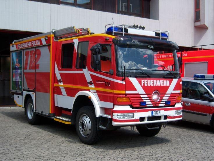 Feuerwehr Fulda LF 16/12 Mercedes Atego